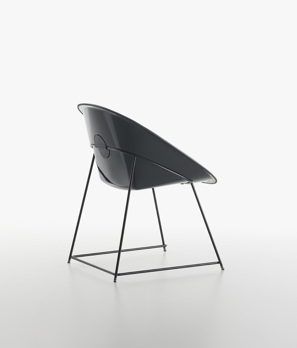 Plank - CUP chair, black