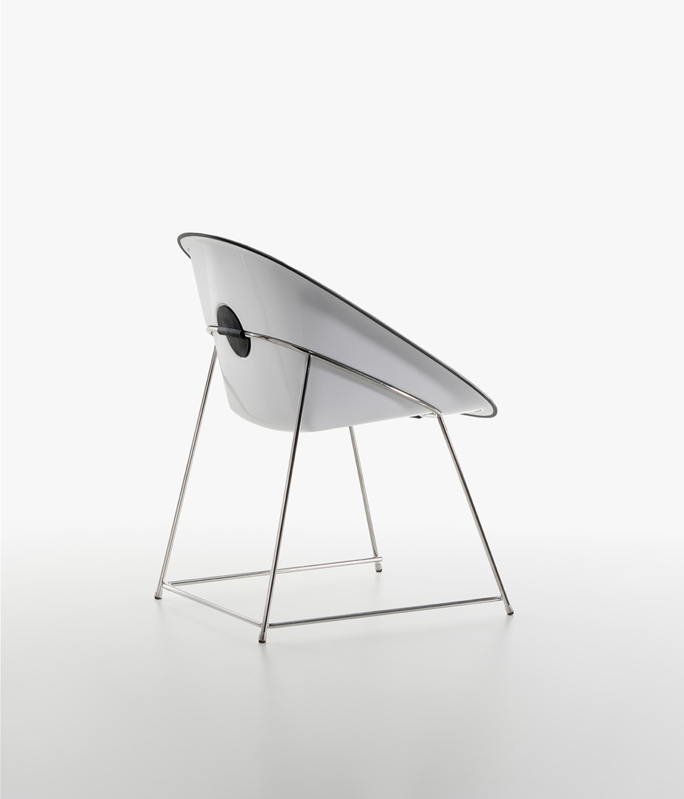 Plank - CUP chair, white